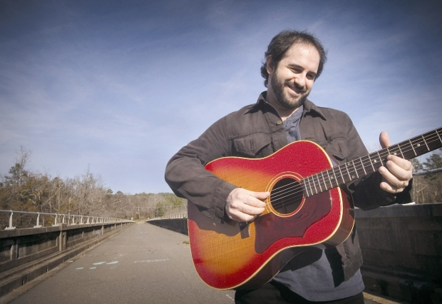 Jon Shain with guitar
