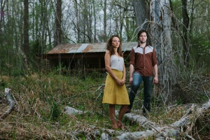 Mandolin Orange at the Eno River State Park, Sunday, April 14, 2013.